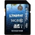 Card memorie Kingston SD10G3-16GB SDHC 16GB, G3, Class 10