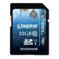 Card memorie Kingston SD10G3-32GB, 32GB SDHC Class 10