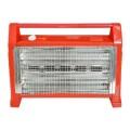 Radiator electric cu rezervor de apa pentru umidificarea aerului, Hausberg HB 8102, 1600W, rosu