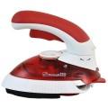 Fier de calcat de voiaj Hausberg HB 7810, talpa non stick, 1000W, alb-rosu