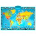 Harta interactiva a lumii, bilingv - limba romana ZN0001 de la MomKi