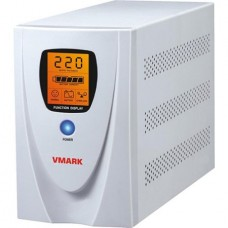 UPS V-Mark UPS-800VP, display LCD, 800VA