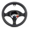 Husa pentru volan din piele ecologica Bottari ROAD 16284, negru, U994233