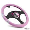 Husa universala pentru volan Bottari 29205, diametru 38 cm, roz, U600294